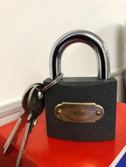 Tri-circle 50mm padlock