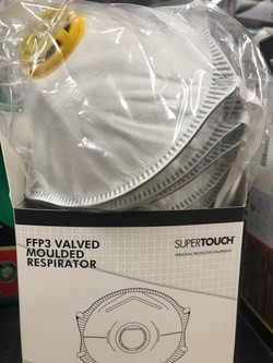 FFP3 Valved Moulded Respirator