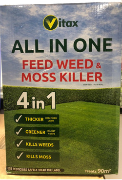 All in one Feed Weed & Moss Killer