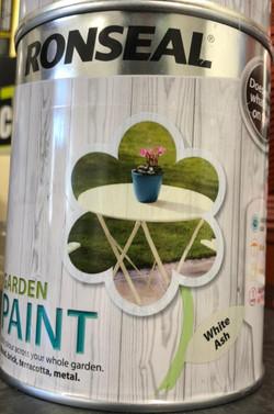 Ronseal Garden Paint White Ash