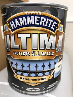 Hammerite Metal Protection