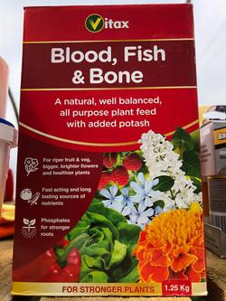 Blood, Fish & Bone Plant Feed