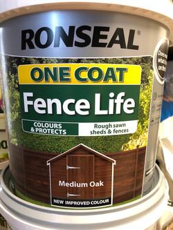 Ronseal Fence Life Medium Oak