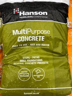Hanson MultiPurpose Concrete