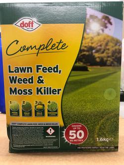 Lawn Feed, Weed & moss killer