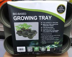 Bio-Based Growing Tray