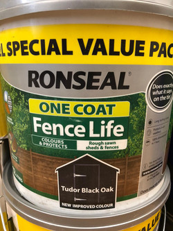 Ronseal One Coat Fence Life 12L