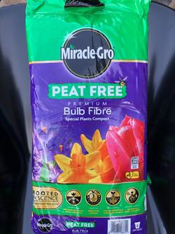 Miracle Gro Peat Free Bulb Fibre