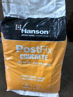 PostFix concrete