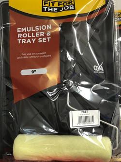 Emulsion Roll & Tray Set
