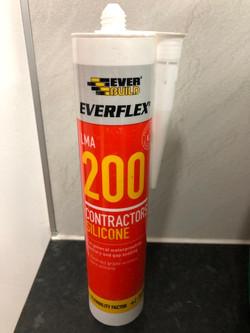 Everbuild 200 LMA Silicone Sealant