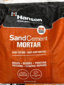 Hanson SandCement Mortar