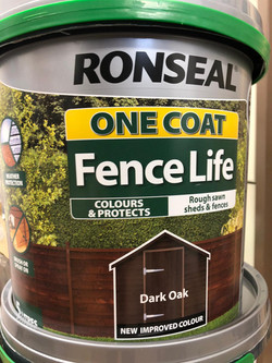 Ronseal One Coat Fence Life 1L