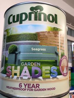 Garden Shades Seagrass