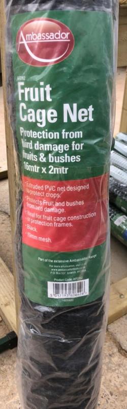 Fruit Cage Net