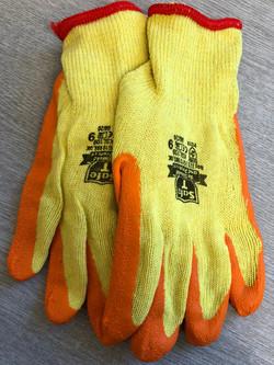 Yellow/Orange Gloves