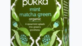 Pukka Teas - Mint Matcha Green Tea - 20 Tea Sachets (£/pack)