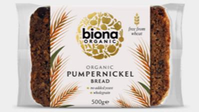 Biona Organic Pumpernickel Bread 500g (£/each)