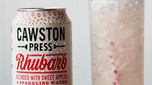 Cawston Press Sparkling Rhubarb Juice 330ml (£/each)