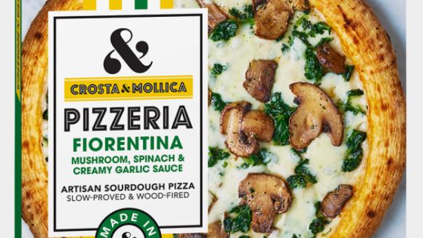 Crosta & Mollica Pizzeria Wood-Fired Sourdough Fiorentina Pizza 462g (£/each)
