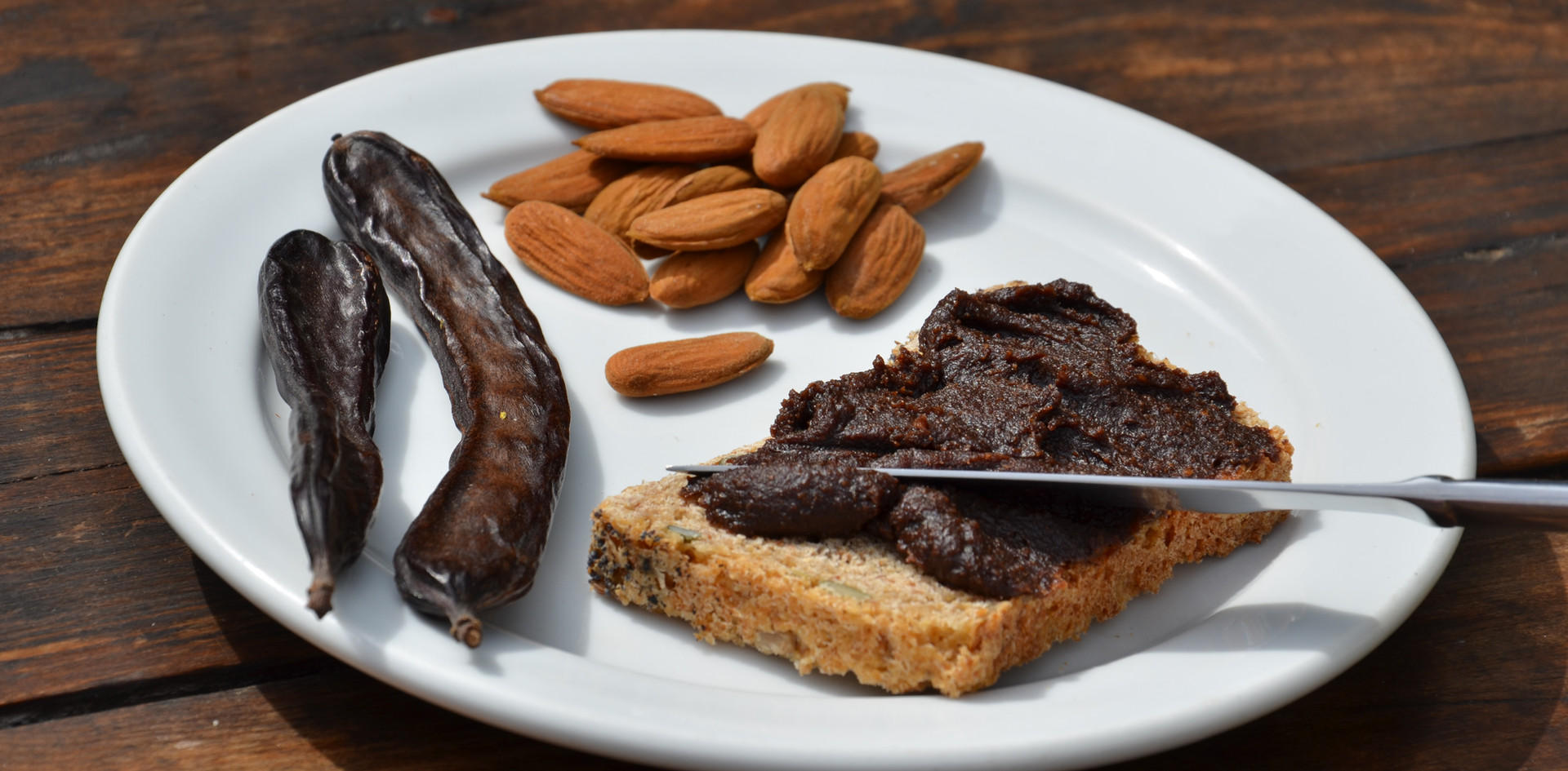Carob and Almond Spread