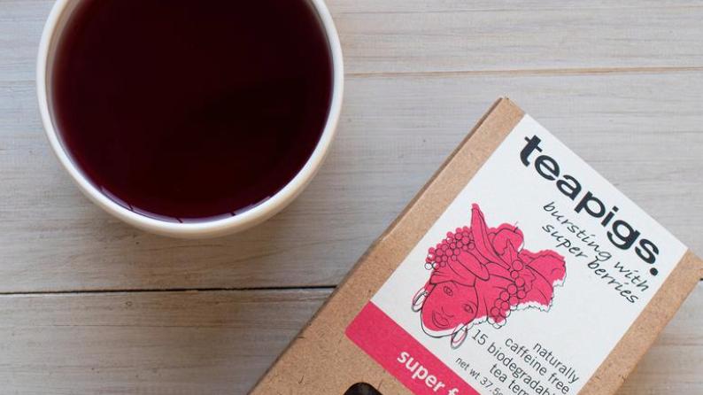 Teapigs - Super Fruit - 15 Tea Temples (£/pack)