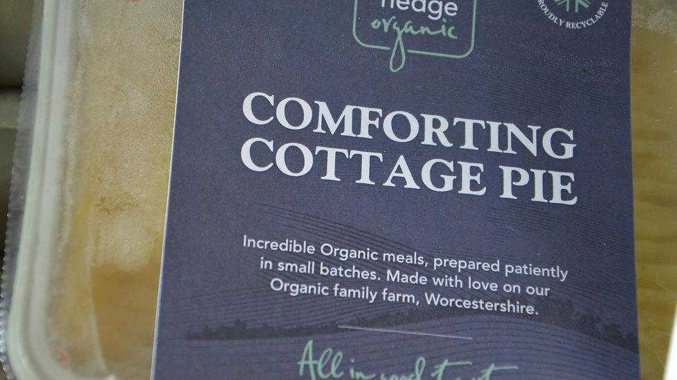 Pegoty Hedge Organic Comforting Cottage Pie 440g (£/each)