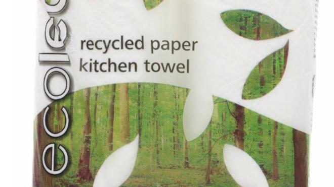 Ecoleaf 3 Ply Kitchen Towels 2 Rolls (£/pack)
