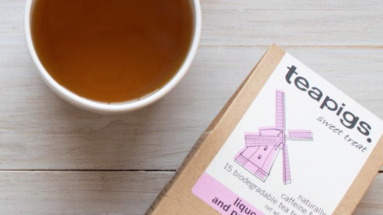 Teapigs - Liquorice and Peppermint Tea - 15 Tea Temples (£/pack)