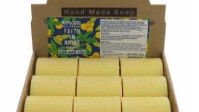 Faith in Nature - Loose Soap Bar 100 grams - Grapefruit (£/each)