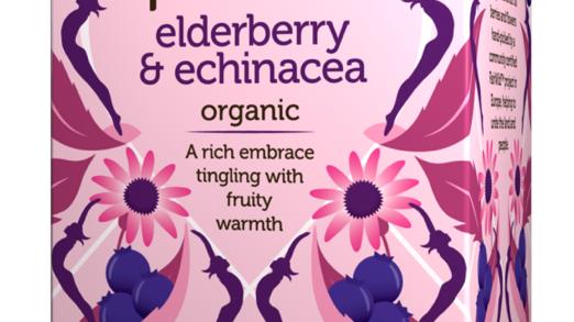 Pukka Teas - Elderberry & Echinacea - 20 Tea Sachets (£/pack)