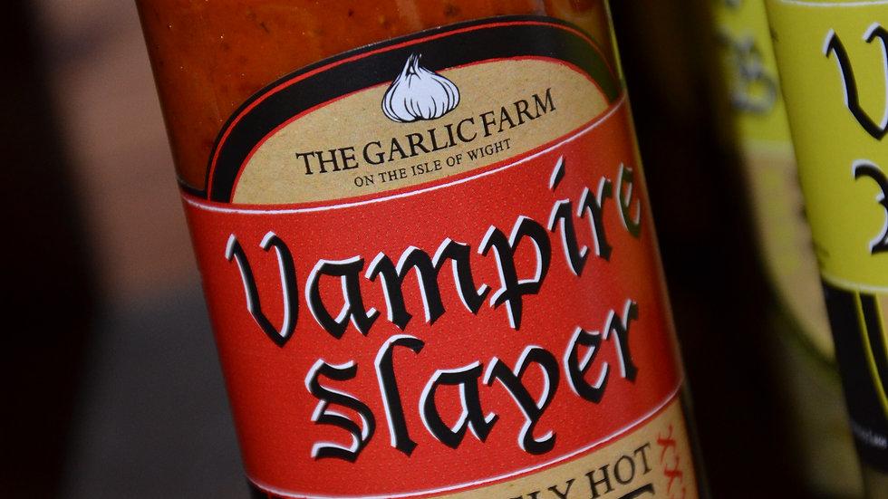 The Garlic Farm Vampire Slayer - Seriously Hot Sauce 150ml (£/each)