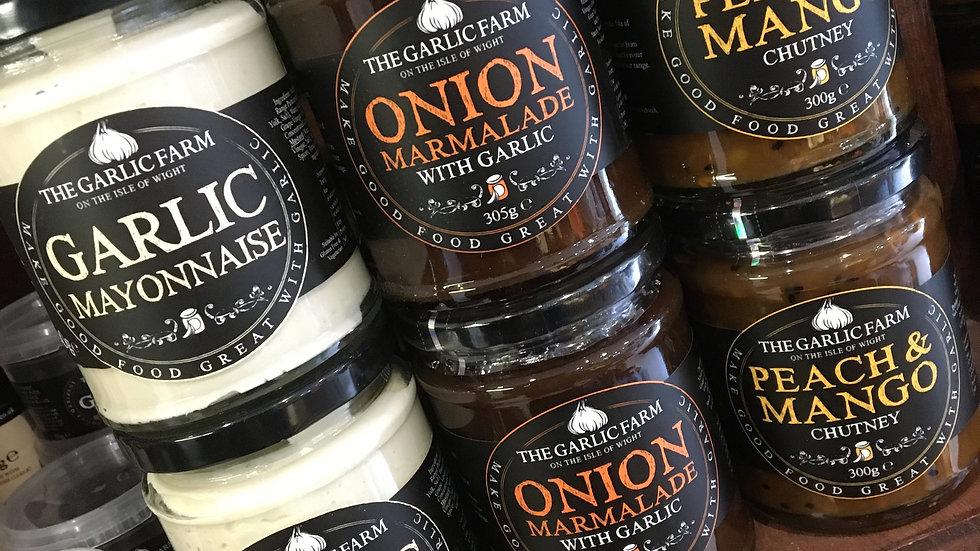 The Garlic Farm Onion Marmalade with Garlic 290g (£/each)