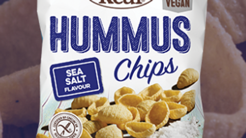 Eat Real Hummus Chips - Sea Salt 135g (£/each)
