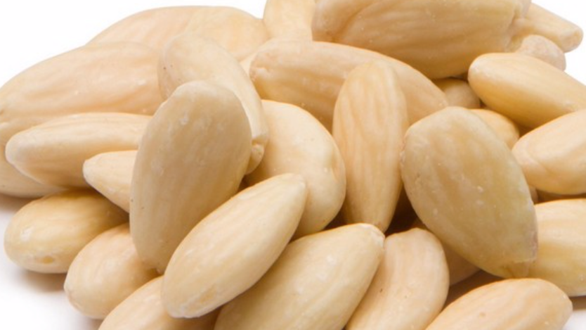 Dispensed Organic Blanched Almonds (£/100g)