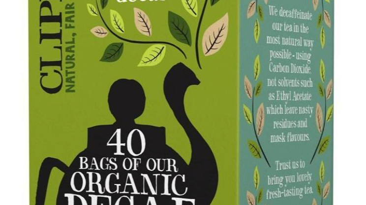 Clipper Teas - Organic & Fairtrade Decaf Green Tea  - 40 bags  (£/pack)