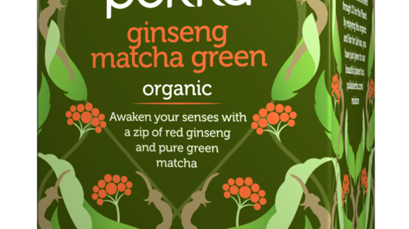 Pukka Teas - Ginseng Matcha Green Tea - 20 Tea Sachets (£/pack)