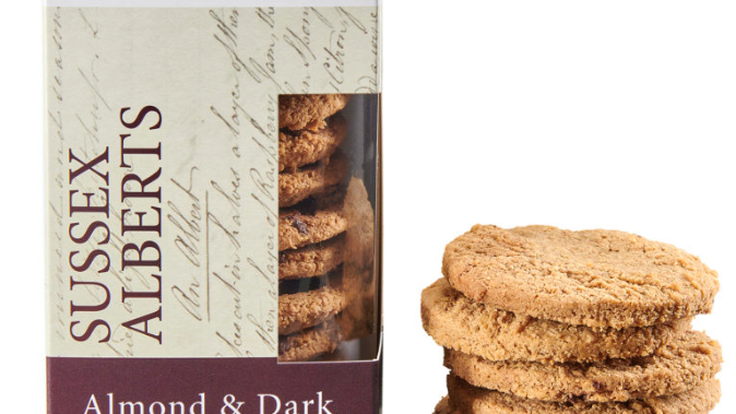 Horsham Gingerbread Bakehouse Almond & Dark Choc Sussex Alberts 175g (£/each)