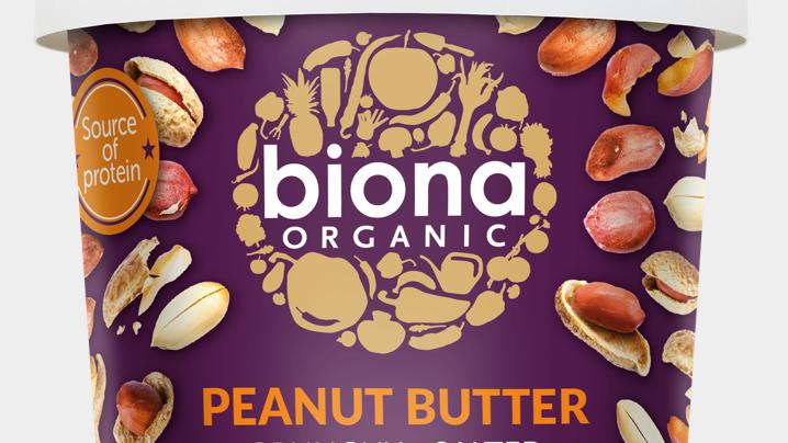 Biona Organic Peanut Butter 1kg (£/each)