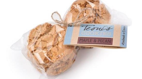 Teoni's Cookies - Maple & Pecan Oat Crunch 300g (£/pack)