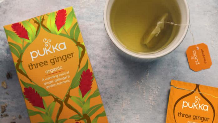 Pukka Teas - Three Ginger - 20 Tea Sachets (£/pack)