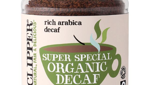 Clipper - Organic & Fairtrade Instant Decaf Coffee 100g (£/each)