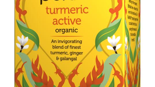 Pukka Teas - Turmeric Active - 20 Tea Sachets (£/pack)