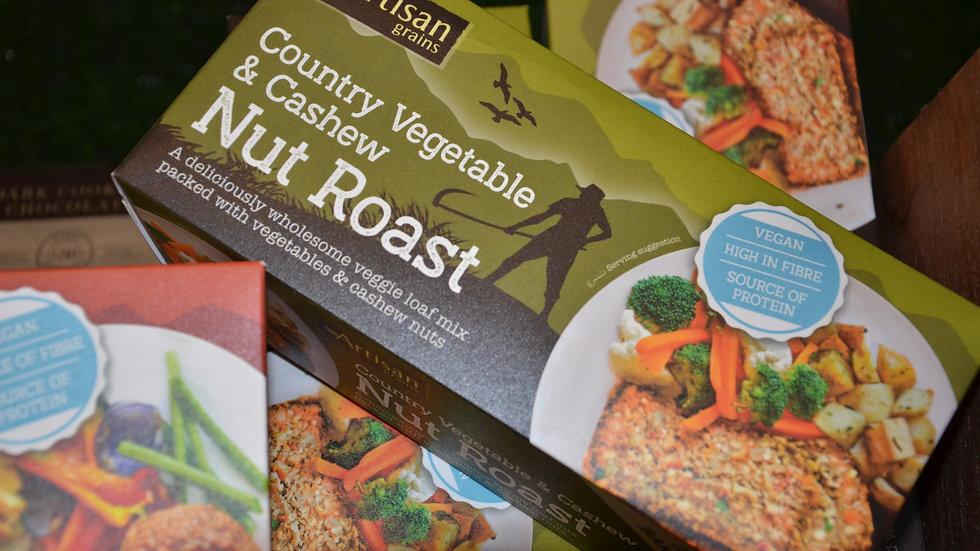 Artisan Grains Country Vegetable & Cashew Nut Roast (£/each)