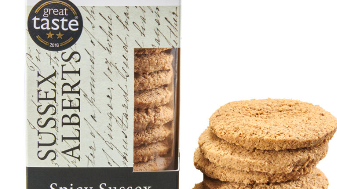 Horsham Gingerbread Bakehouse Spicy Sussex Alberts 175g (£/each)