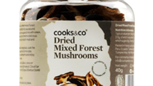 Cooks & Co Dried Mixed Forest Mushrooms 40g (£/each)