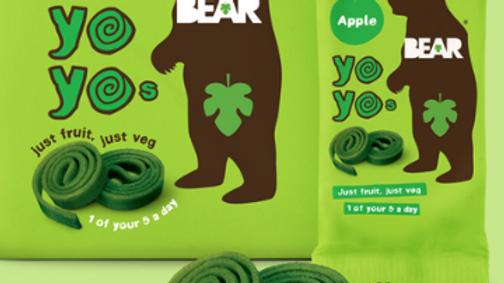Bear Yo Yos Real Fruit Apple Rolls 20g (£/each)