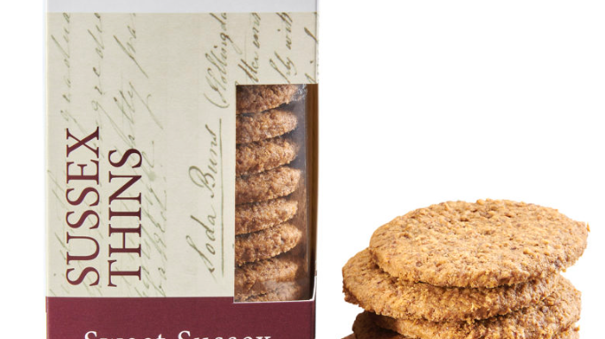 Horsham Gingerbread Bakehouse Sweet Sussex Thins 175g (£/each)