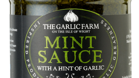 The Garlic Farm Mint Sauce with a hint of Garlic 185g (£/each)