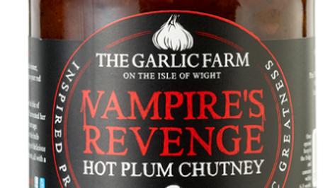 The Garlic Farm Vampire's Revenge Hot Plum Chutney 285g (£/each)